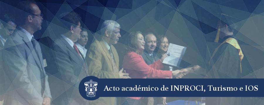 Banner: Graduación inproci, Turismo e IOS