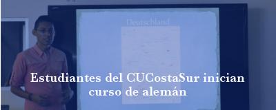 Banner: Curso de alemán en CUCostaSur