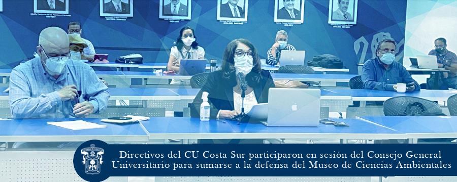Directivos del CU Costa Sur participaron en el CGU