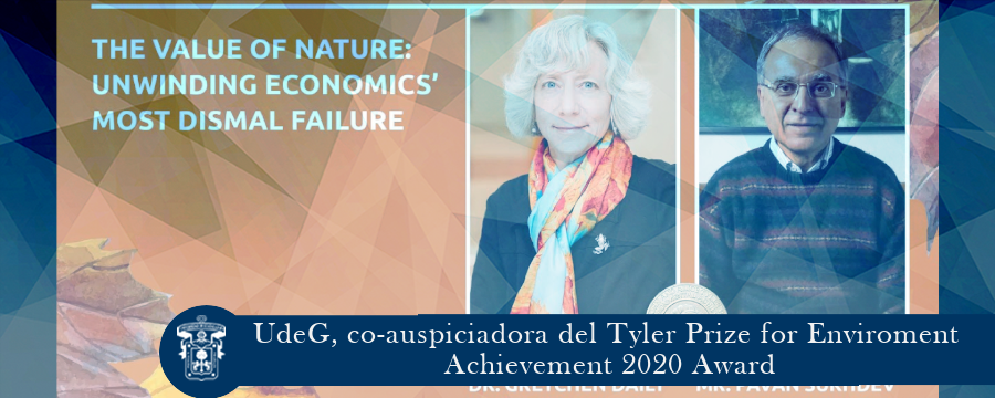 UdeG, co-auspiciadora del Tyler Prize for Enviroment Achievement 2020 Award