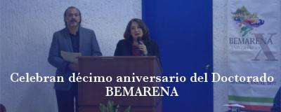 Banner: Celebran 10º aniversario de BEMARENA