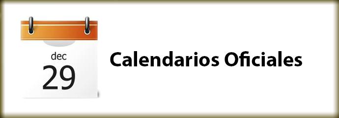 Calendarios Oficiales