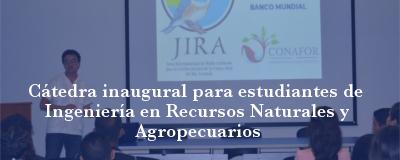 Banner: Cátedras IRNA