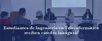 Banner: Cátedras INTEL