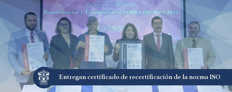 Banner: Entrega de certificado SGC