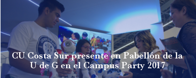 Banner: Participación en Campus Party 2017