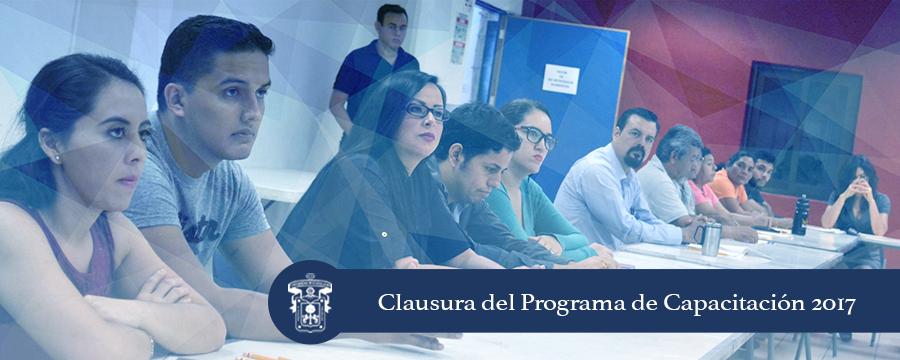 Banner: Clausura Programa capacitación 2017