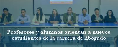 Banner: Cátedras inaugurales Derecho