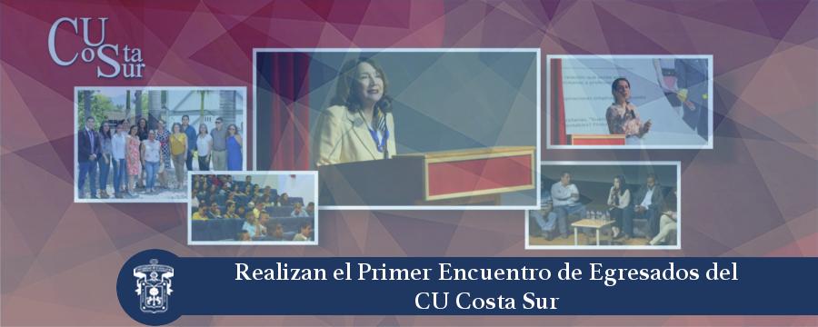 Banner: Primer Encuentro de Egresados