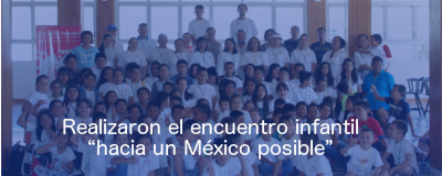 Banner: Encuentro infantil