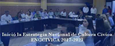 Banner: Estrategia Nacional de Cultura Cívica