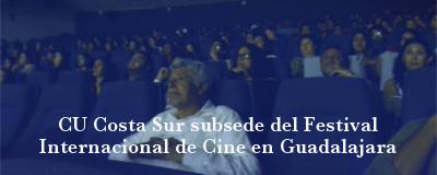 Banner: CUCostaSur subsede del FICG