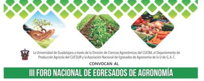 Banner: Foro Nacional de Egresados de Agronomía