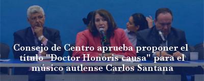 Banner: Honoris causa