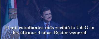 Banner: Informe Rector General