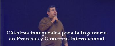 Banner: Cátedras inaugurales INPROCI