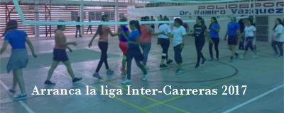 Banner: Liga Inter-Carreras 2017