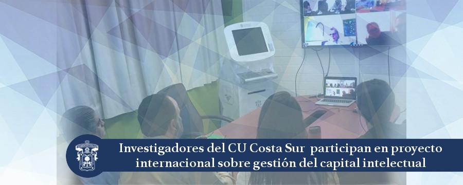 Banner: Investigadores CU Costa Sur