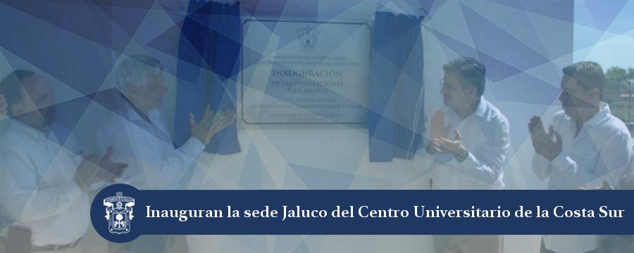 Banner: Inauguración sede Jaluco