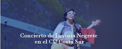 Banner: Concierto Lavinia Negrete