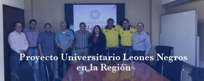 Banner: Proyecto Universitario Leones Negros