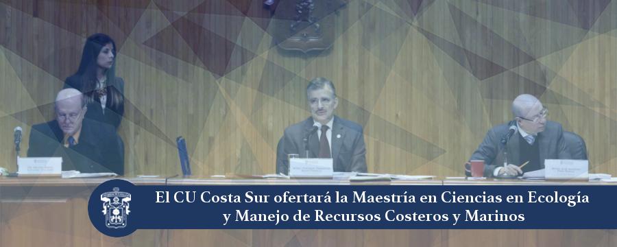 Banner: Maestría en Ciencias en Ecología y Manejo de Recursos Costeros y Marinos