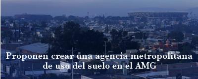 Banner: Agencia Metropolitana de uso del Suelo