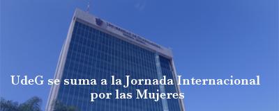 Banner: Jornada Internacional por las Mujeres