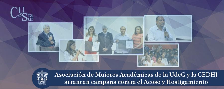 Banner: Asociación de Mujeres Académicas