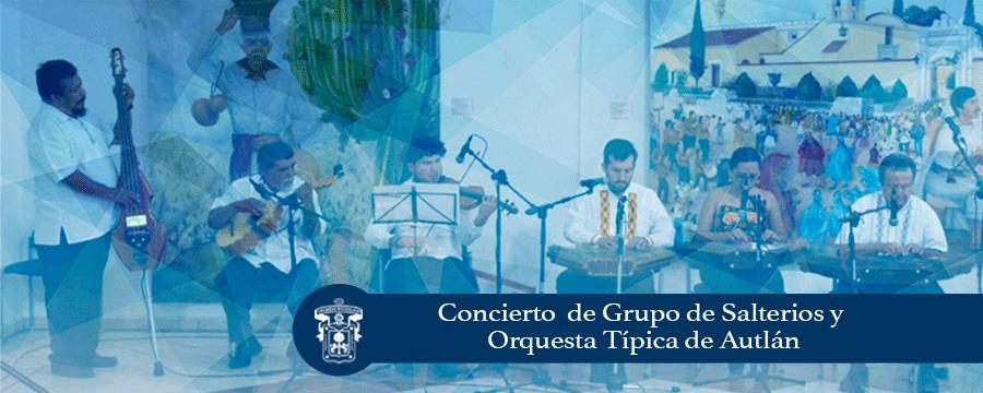 Banner: Concierto grupo de Salterios