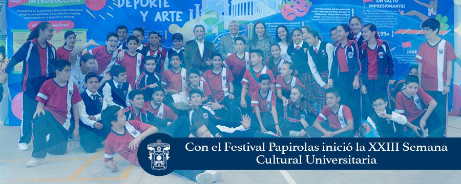 Banner: Inicio Semana Cultural 2017