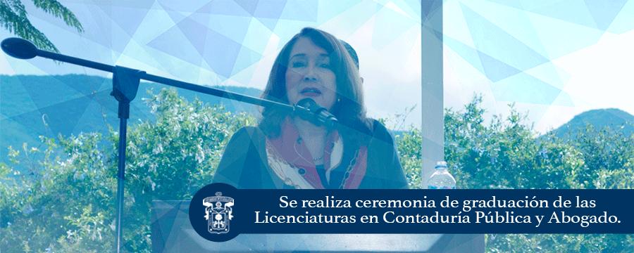 Banner: Acto académico Contaduria-Abogado