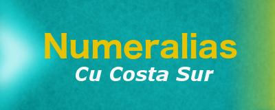 Numeralias CU Costa Sur