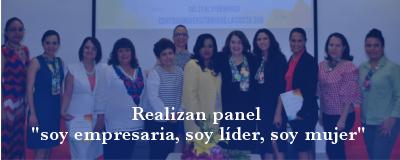 Banner: Panel semana de la mujer