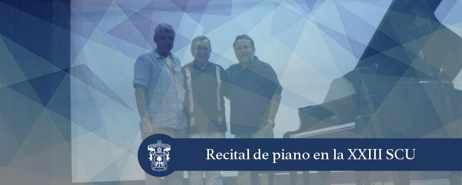 Banner: Recital de piano