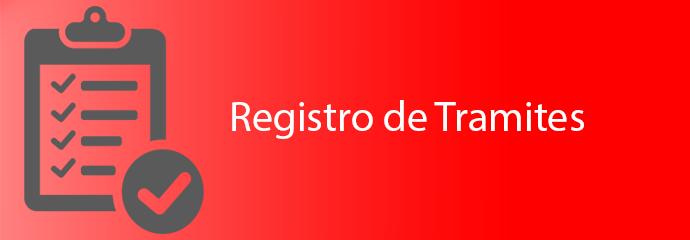 Registro de Trámites