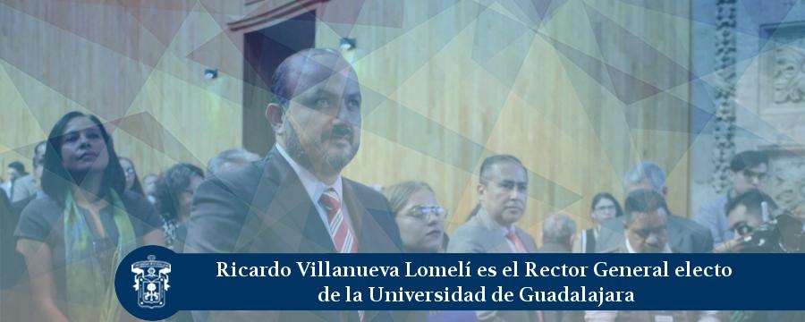 Banner: Elección rector general