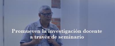 Banner: Seminario de investigación