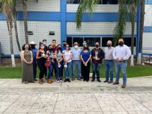 Estudiantes de primer semestre de IRNA realizan práctica en Las Joyas