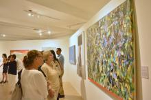 Nota: Exposicion itinerante de obras de la tercer Bienal de Pintura José Atanasio Monroy