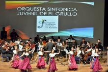 Nota: Orquesta sinfónica de El Grullo