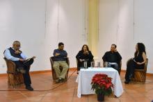 Panel por la paz en Autlán