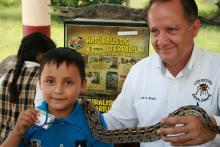Exposición Biológica Itinerante gana premio de vinculación