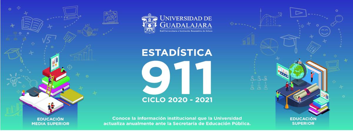 """Estadísticas 911 Ciclo 2020-2021 """"Consulta Aquí"""""""