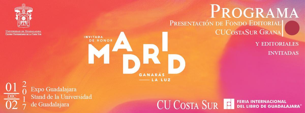 Banner: Presentación Fondo Editorial CU Costa Sur