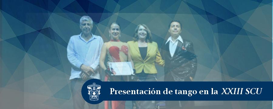 Banner: Presentación de Tango
