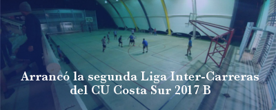Banner: Liga intercarreras