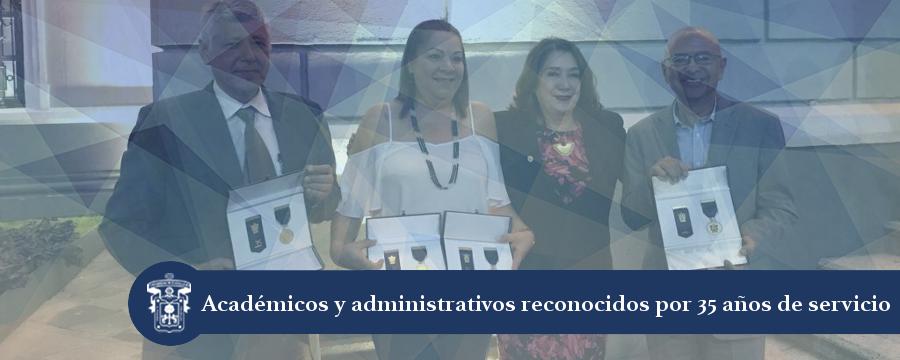 Banner: Reconocimiento a académicos y administrativos del CU Costa Sur